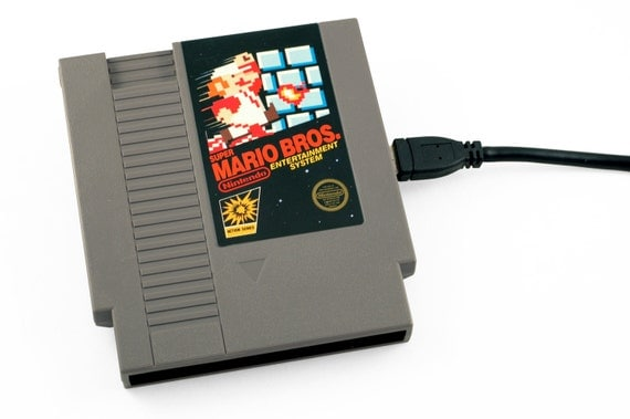 NES Hard Drive - Super Mario Bros - 1.5 TB USB 3.0 by 8BitMemory