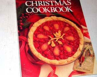 Vintage Betty Crocker's Christmas Cookbook, Holiday Recipes and Entertaining, 1988  (494-11)