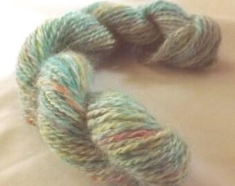 Cottage Garden HANDSPUN Yarn - Wool, Firestar - 48 yds, Sport Weight