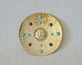 Anna Morelli Vintage Small Gold Plate