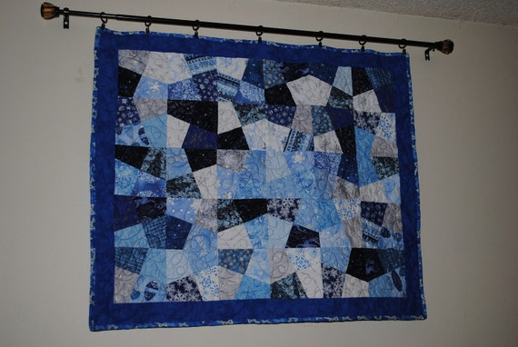 Star Of David Lap Quilt 41x35 by monroe2830 on Etsy