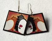 Cat Earrings - Cute Animal Earrings - Gifts for Cat Lovers
