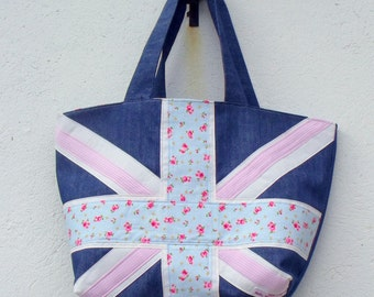 Union Jack Bag Custom Made