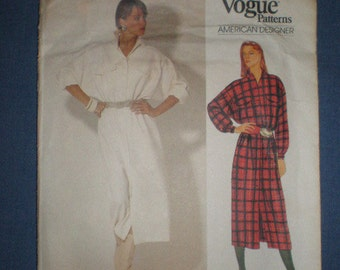 Vintage 80s American Designer Blassport Ltd Vogue  dress