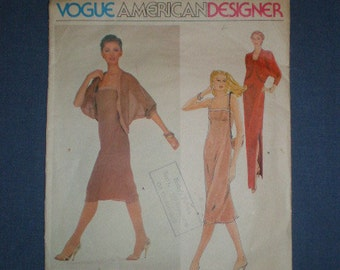 80s Vogue American Designer Jerry Silverman  2328