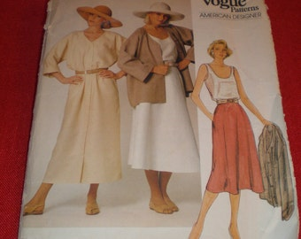 Calvin Klein 80s Vogue Original  American Designer