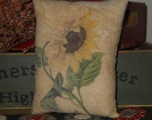 Sunflower Pillow Tuck