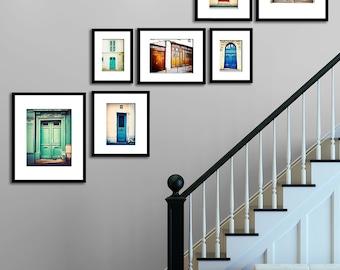Paris Photography Print Set Parisian Door Wall Art Wall Decor The Paris