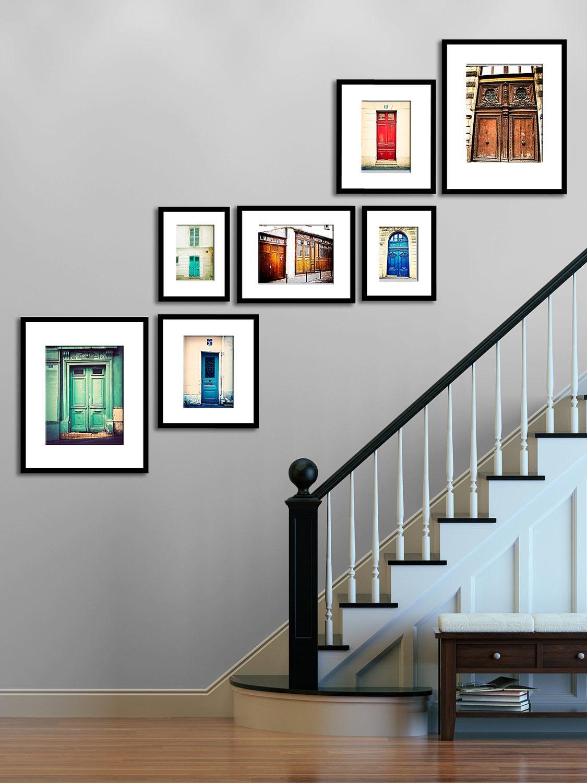 Paris photography print set parisian door wall art wall zoom amipublicfo Image collections