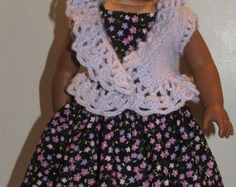 Lacy Shrug fits American Girl dolls