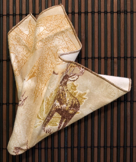 Small Flankie - Hunter's Collage Flannel Handkerchiefs - Set of 3