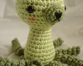 Kitty-Pus  part cat, part octopus amigurumi pattern
