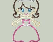 Sweet Princess Applique Design