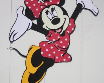 Minnie Mouse die cut