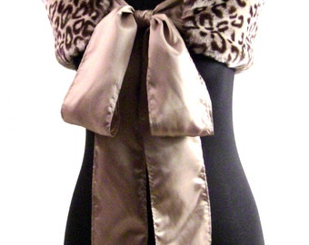 Establish your FASHION PERSONALITY  - Adorable Faux Fur Fashion Stole