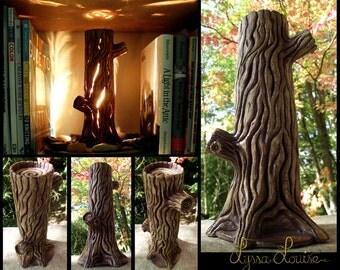 Ceramic Tree Lamp