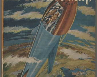 1954 Tom Swift and his Rocket Ship Book