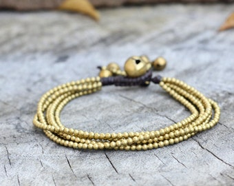 Brass Chain Hip Bracelet