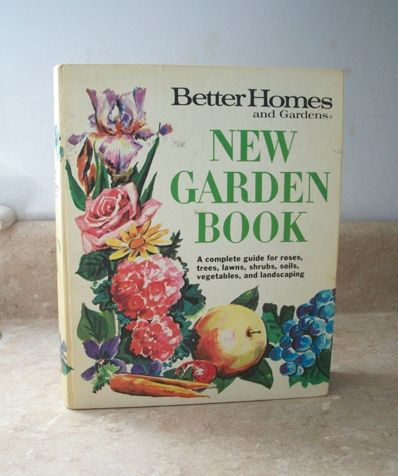 Vintage 1971 Better Homes and Gardens New Garden Book