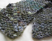 Treebeard - Handspun, handknit scarf