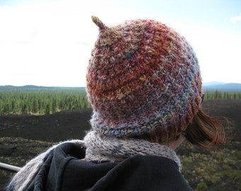 PDF Knitting Pattern - Pinecone Hat