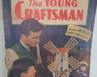 Vintage Popular Mechanics Magazine The Young Craftsman 1943