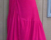 CUSTOM Skirt OR Dress is Ruched in Center Back, I will use any fabric you may choose
