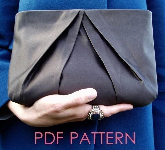 Pleated Clutch Pattern PDF