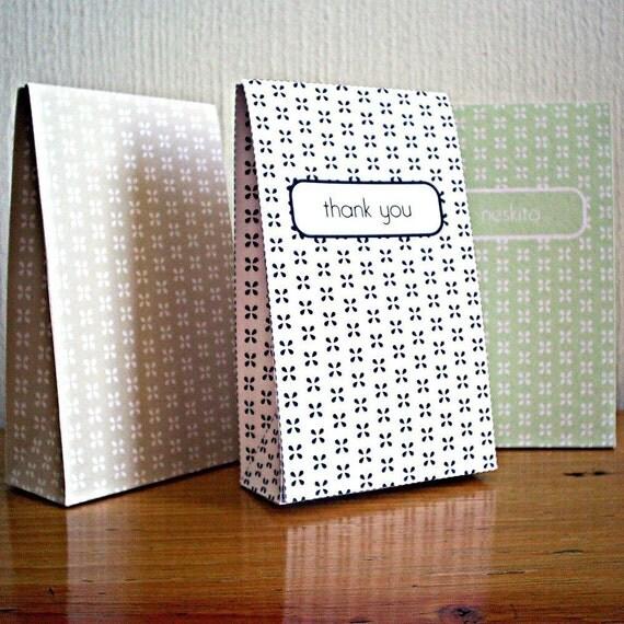 Printable gable box - custom text and color