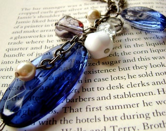 Eternity - Egyptian Blue Unique design Short Necklace