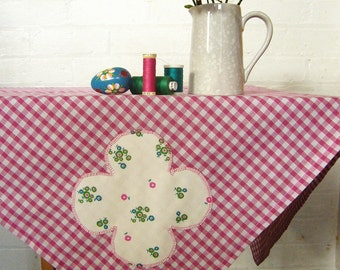 liberty belle square gingham picnic tablecloth