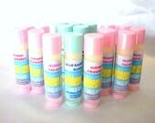 Vanilla Swirl Lip Balm -Natural and paraben free