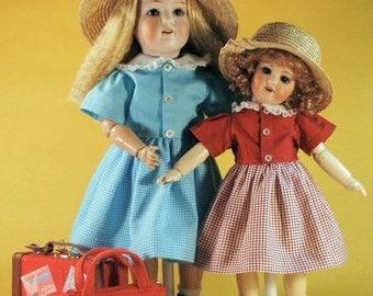 Bleuette and Rosette patterns for doll clothing - PASSE PARTOUT Gautier Languereau 1958