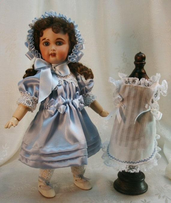 Bleuette pattern for doll clothing - Gautier languereau FROU FROU 1915 and La Semaine de Suzette Son Tablier D'Apres Midi 1905