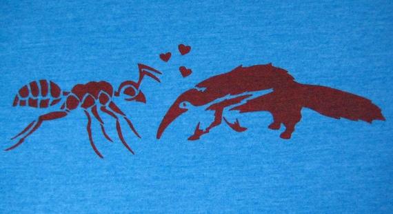 Anteater Loves Ant Women's Junior fit T Shirt