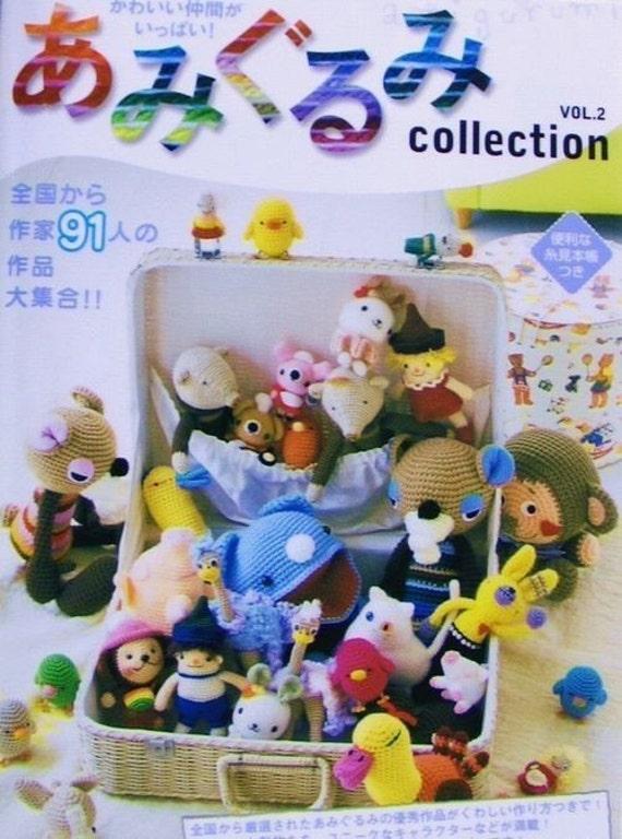 Items similar to Amigurumi Collection Vol.2, Japanese ...