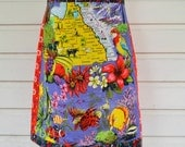 Perfect Day Women's A-Line Wrap Skirt Size small to med