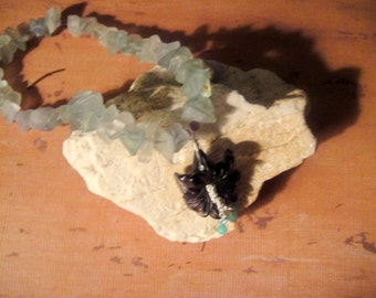 For the Love of the Garden   (Fluorite Necklace)