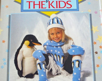 Knit One For The Kids, Book of 45 hand knit patterns