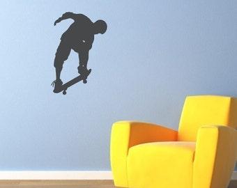 Skateboarder Decal - Boy Wall Sticker - Boy Bedroom Decal - Children Wall Art - 2