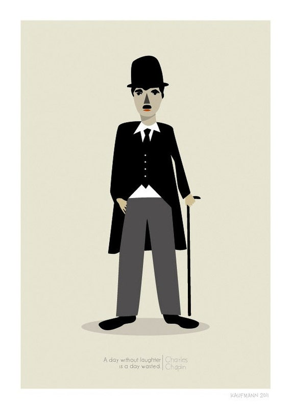 Chaplin Print - Different Sizes