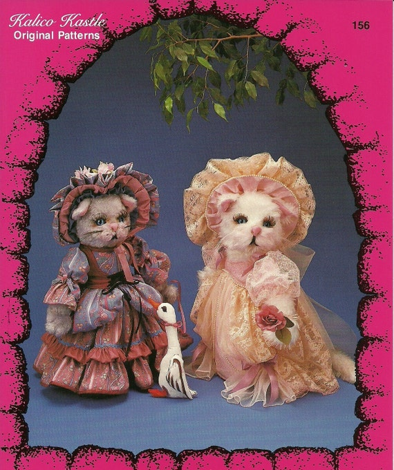 The City Cat and The Country Cat Kalico Kastle Pattern