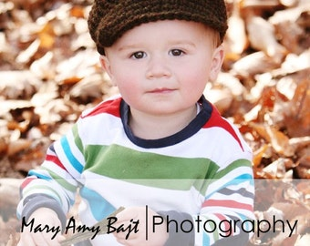 Newsboy Hat (fits Babies to Adults)