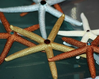 Starfish and Swarovski Crystal Favors/Ornaments