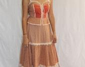 Vintage GUNNE SAX Dress Prairie Frock 1970s Dream