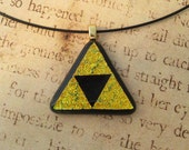 Legend of Zelda Large Triforce Pendant