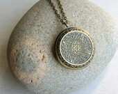 Vintage Style Large Locket Necklace