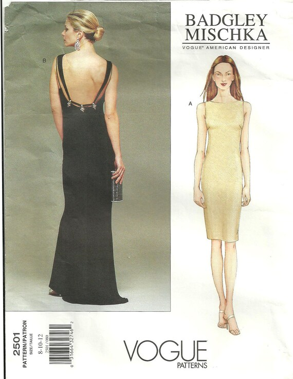 Vogue 2501 Designer Sewing Pattern