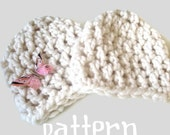Baby Hat CROCHETING PATTERN, 30 Minute Chunky Beanie Hat, Newborn Photography Prop, Sell What You Make