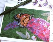 Butterfly Note Card Set- Quilt Print